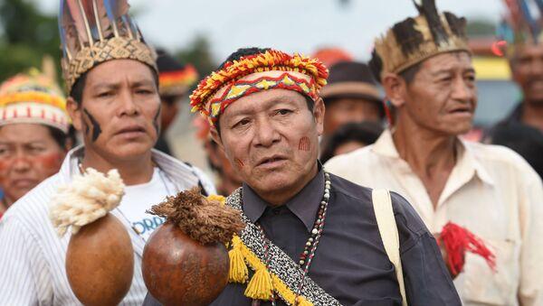Indígenas de Brasil - Sputnik Mundo