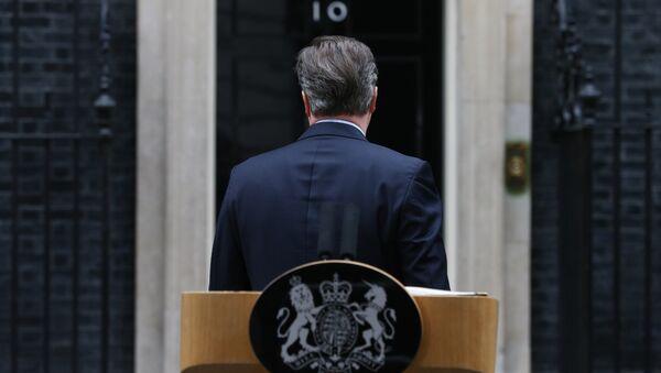 David Cameron, primer ministro del Reino Unido - Sputnik Mundo