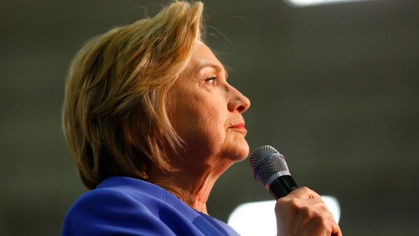 Hillary Clinton, precandidata del Partido Demócrata - Sputnik Mundo
