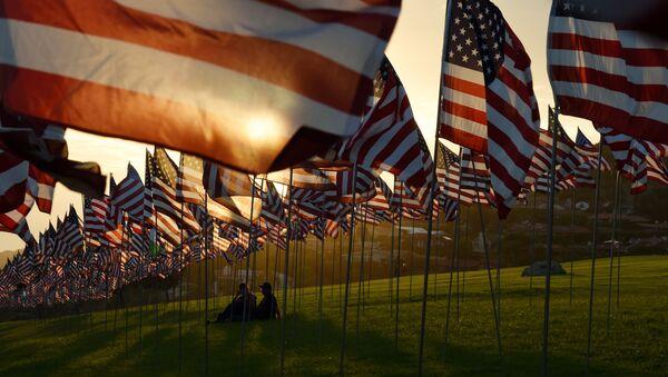 Banderas de EEUU - Sputnik Mundo