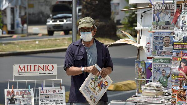 Contaminación del aire en la Ciudad de México - Sputnik Mundo