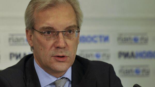 Пресс-конференция заместителя министра иностранных дел РФ Александра Грушко - Sputnik Mundo