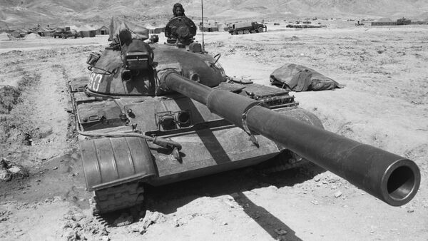 Contingente militar soviético en Afganistán - Sputnik Mundo