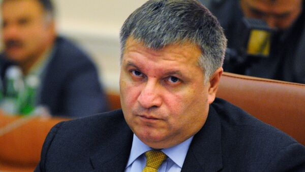 El ministro del Interior de Ucrania, Arsén Avákov - Sputnik Mundo