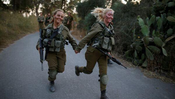 Mujeres del Ejército israelí (Archivo) - Sputnik Mundo