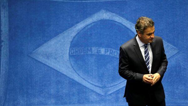 Aécio Neves, senador del Partido de la Social Democracia de Brasil - Sputnik Mundo