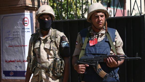 Egyptian soldiers (archivo) - Sputnik Mundo