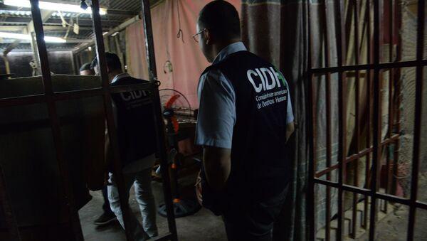 CIDH visita Centro Penal San Pedro Sula, Honduras - Sputnik Mundo