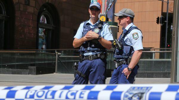 Policía australiana - Sputnik Mundo