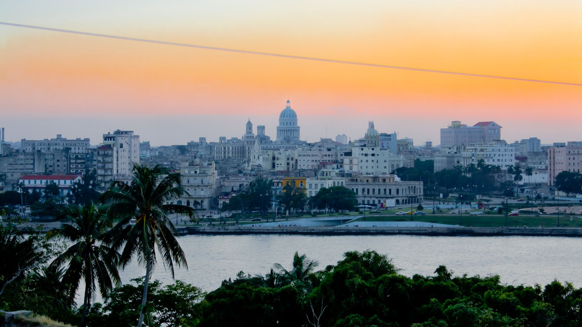 Atardecer en La Habana - Sputnik Mundo, 1920, 19.09.2021