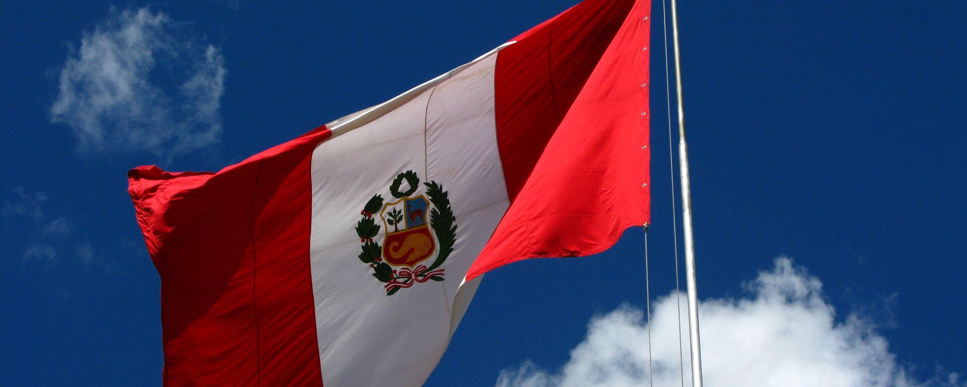 Bandera del Perú - Sputnik Mundo, 1920, 28.07.2021