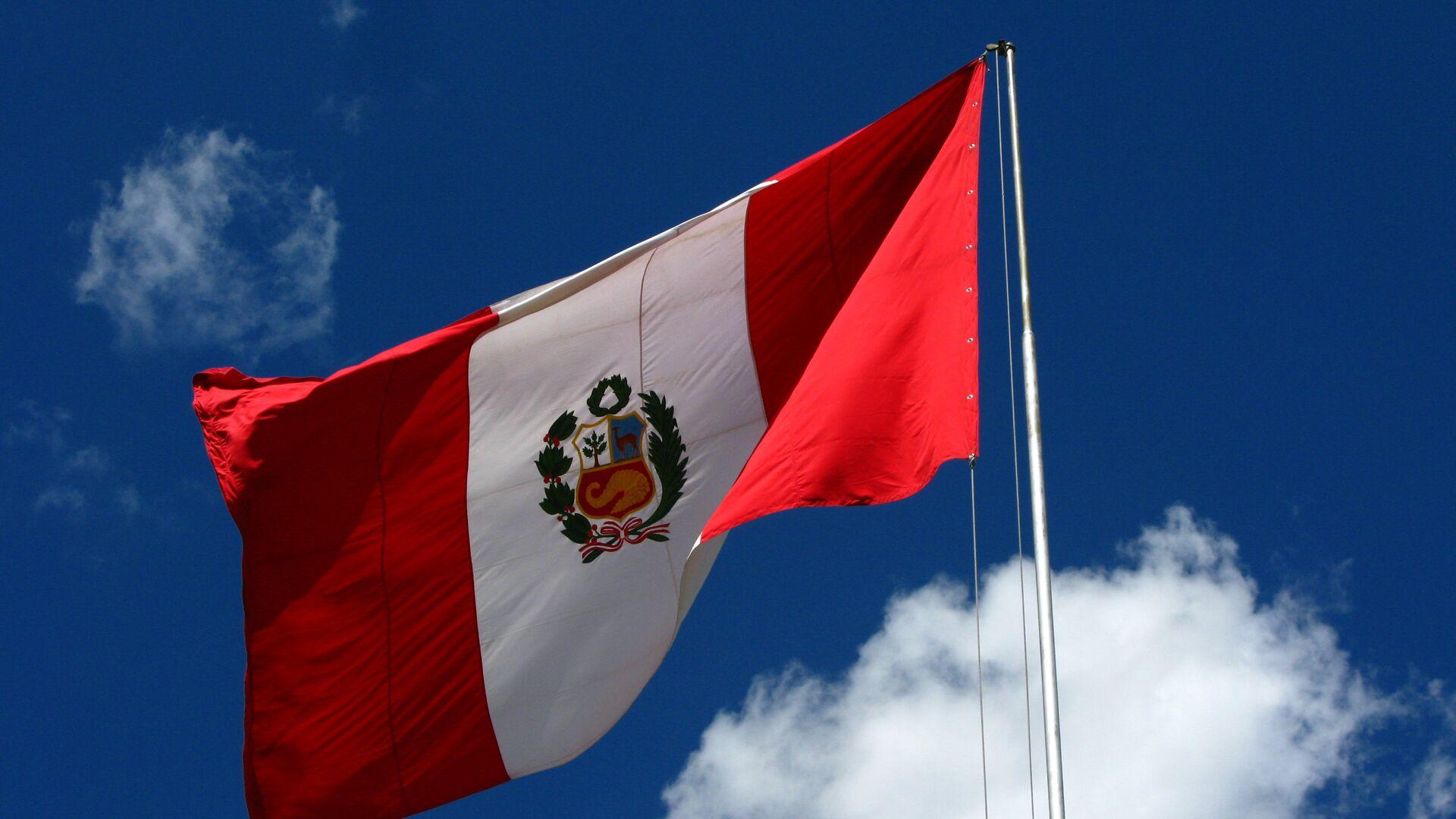 Bandera del Perú - Sputnik Mundo, 1920, 08.02.2021