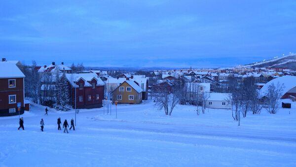 La ciudad de Kiruna, Suecia - Sputnik Mundo
