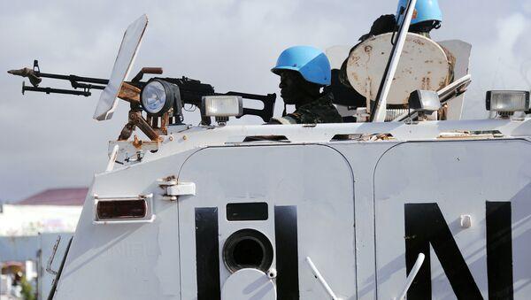 UN peacekeepers in Somalia - Sputnik Mundo