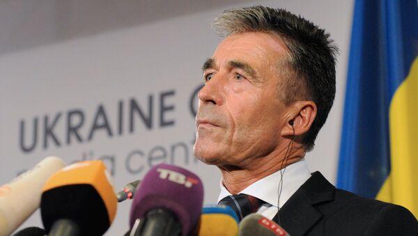 Anders Fogh Rasmussen, ex secretario general de la OTAN - Sputnik Mundo