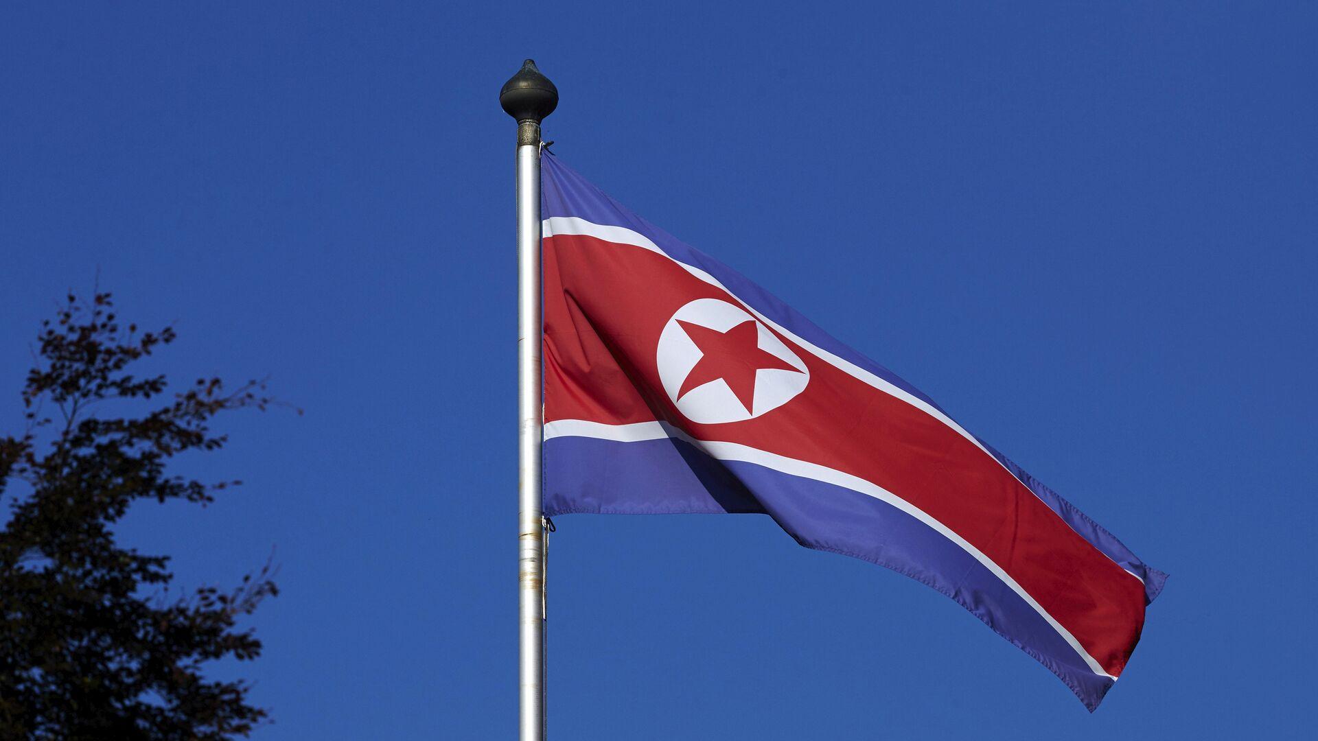 Bandera de Corea del Norte - Sputnik Mundo, 1920, 20.09.2021