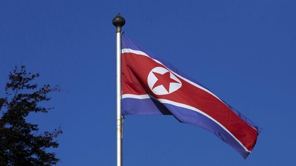 Bandera norcoreana - Sputnik Mundo