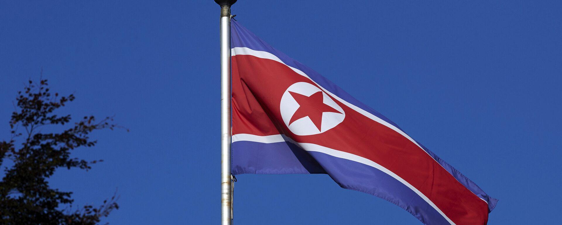 Bandera de Corea del Norte - Sputnik Mundo, 1920, 03.10.2021