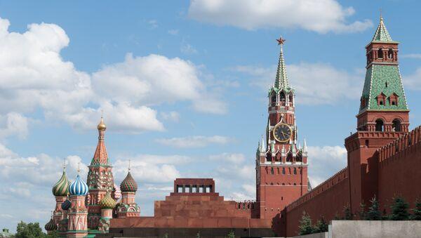 Kremlin, La Plaza Roja, Moscú, Rusia - Sputnik Mundo