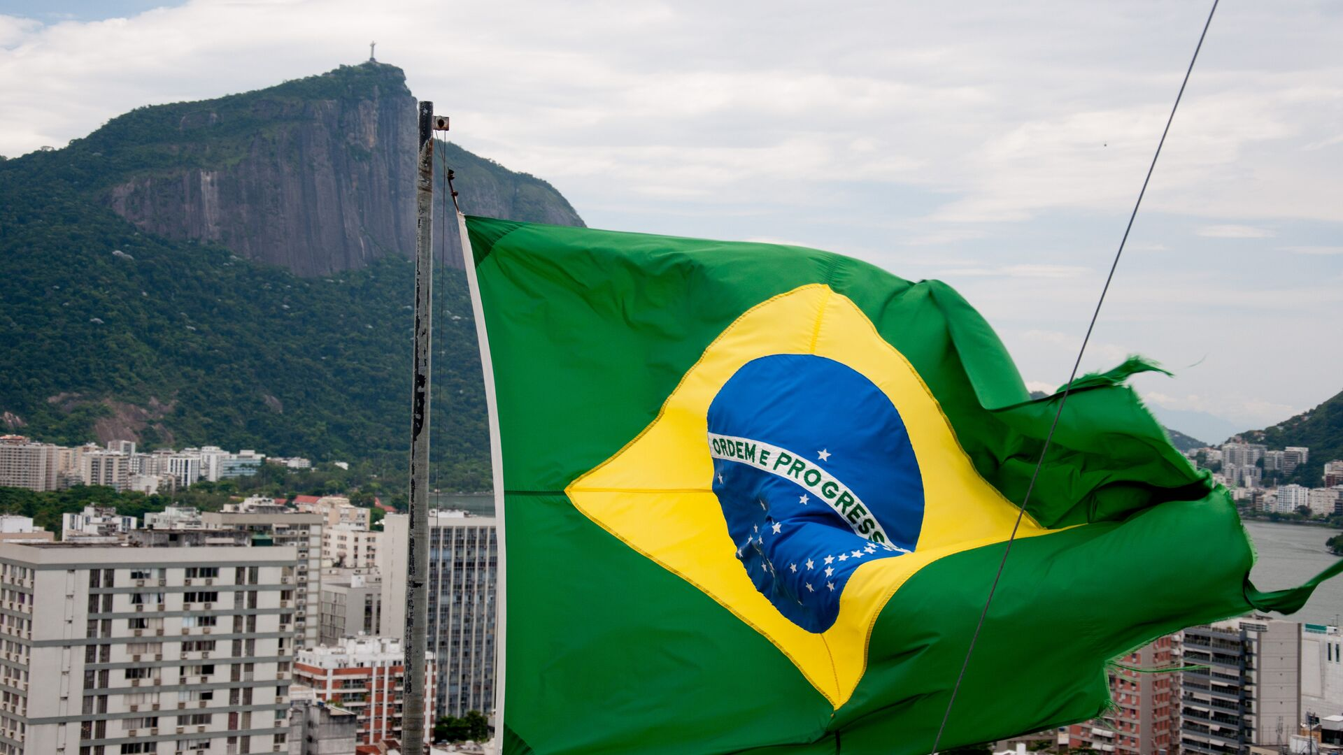 Bandera de Brasil  - Sputnik Mundo, 1920, 30.03.2021
