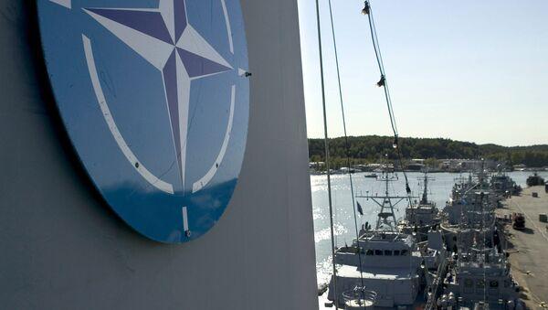 Logo de la OTAN - Sputnik Mundo