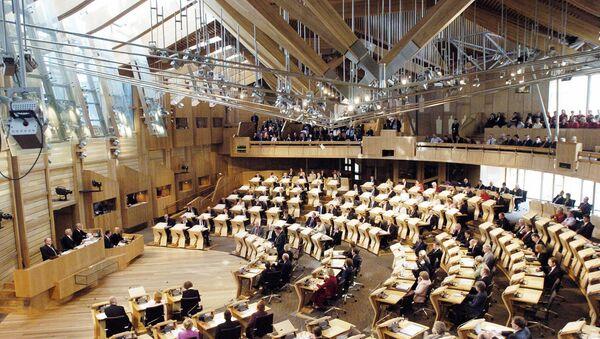 Parlamento Escocés - Sputnik Mundo