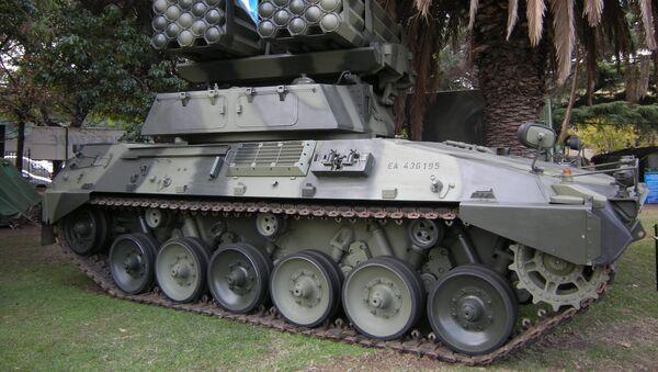 Tanque Argentino Mediano (archivo) - Sputnik Mundo