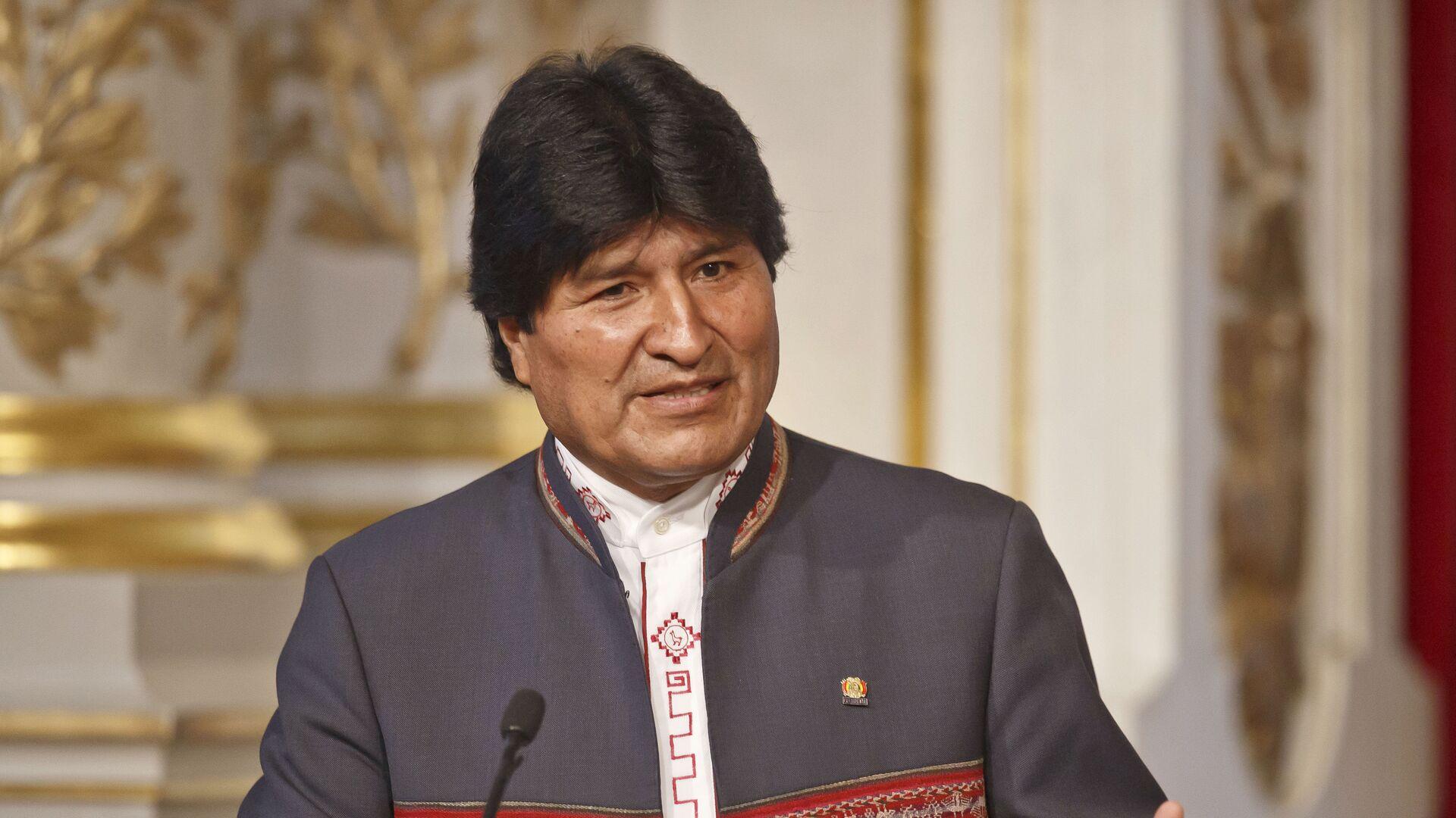 Evo Morales, expresidente de Bolivia - Sputnik Mundo, 1920, 11.08.2021