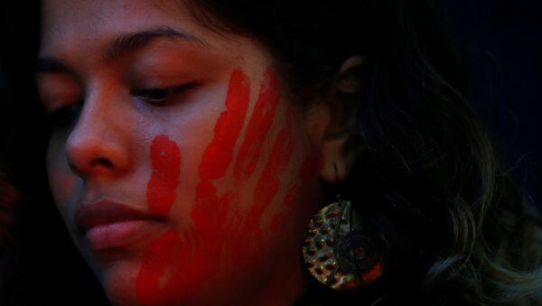 Marcha en contra de la violencia machista (archivo) - Sputnik Mundo