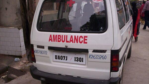 Ambulancia india (archivo) - Sputnik Mundo