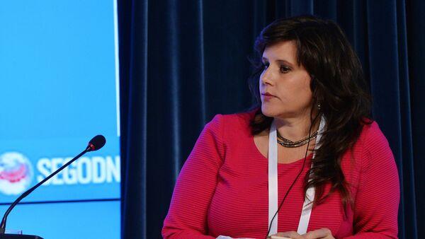 Eva Golinger, la abogada y periodista estadounidense - Sputnik Mundo
