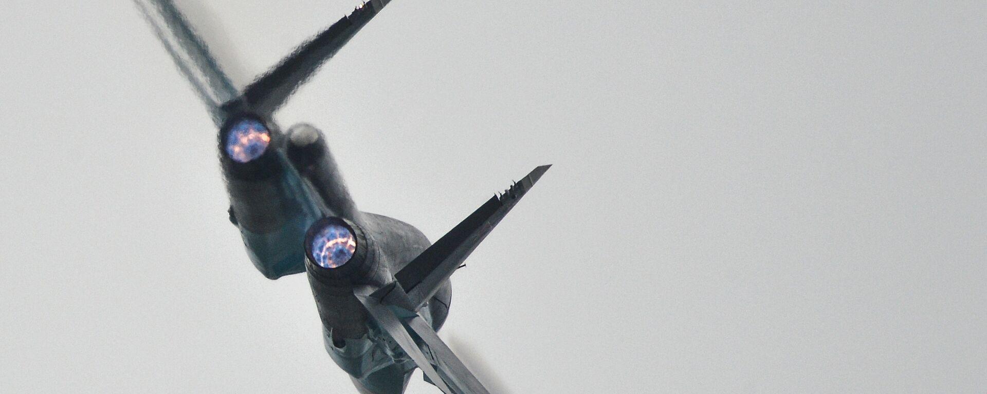 A Su-34 strike aircraft - Sputnik Mundo, 1920, 05.04.2021