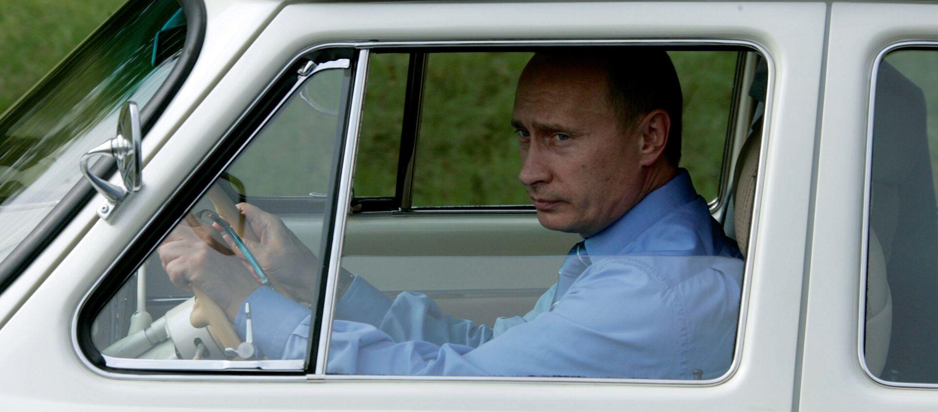 El presidente de Rusia, Vladímir Putin - Sputnik Mundo, 1920, 07.06.2016