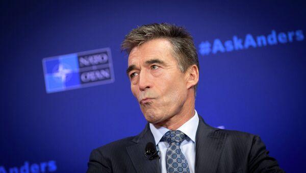 Anders Fogh Rasmussen, exsecretario de la OTAN - Sputnik Mundo