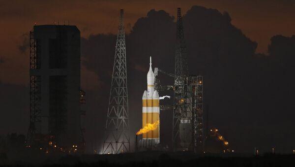 Cohete Delta 4 Heavy (Archivo) - Sputnik Mundo