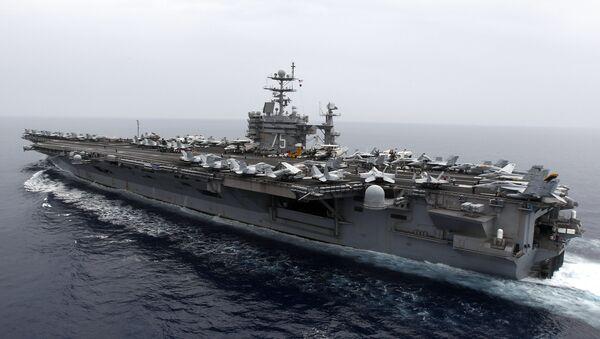 Portaaviones estadounidense USS Harry S. Truman (archivo) - Sputnik Mundo