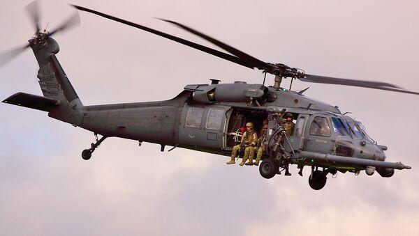Helicóptero estadounidense HH-60 (archivo) - Sputnik Mundo