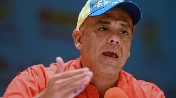 Jorge Rodríguez, ministro de Comunicación e Información de Venezuela (archivo) - Sputnik Mundo