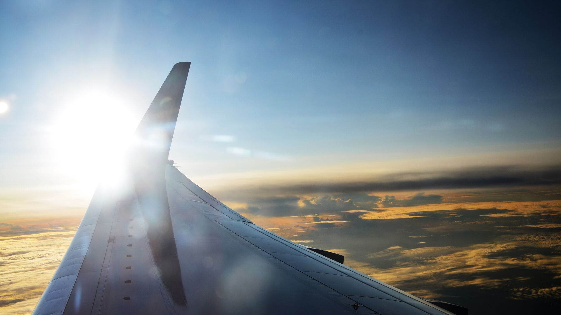 La vista desde el avión - Sputnik Mundo, 1920, 01.09.2021