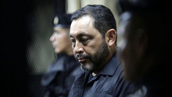 Mauricio López Bonilla, antiguo ministro de Gobernación guatemalteco - Sputnik Mundo