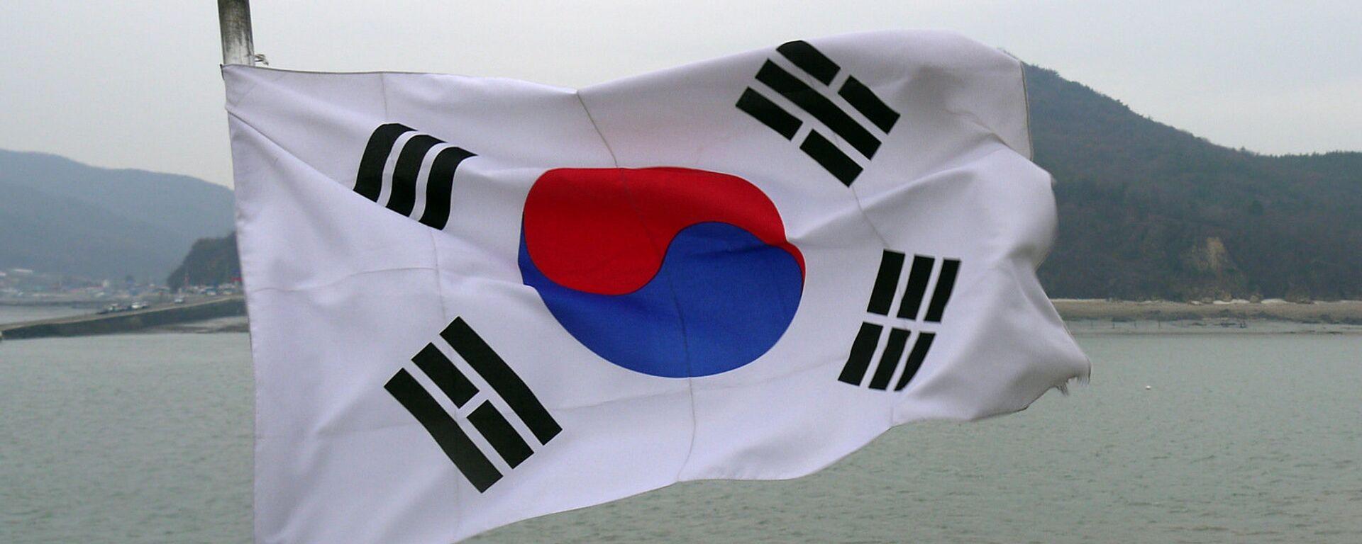 La bandera de Corea del Sur - Sputnik Mundo, 1920, 07.09.2021