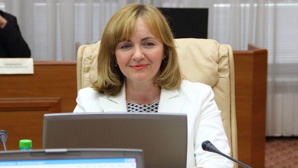 Natalia Gherman, extitular de Exteriores de Moldavia - Sputnik Mundo