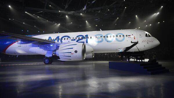 El nuevo avión de pasajeros ruso MS-21 - Sputnik Mundo