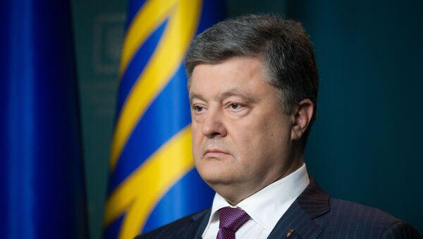 Petró Poroshenko, el presidente de Ucrania - Sputnik Mundo