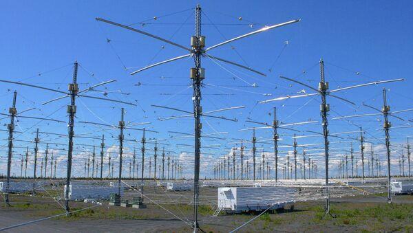 La instalación HHARP en Alaska, EEUU (Archivo) - Sputnik Mundo