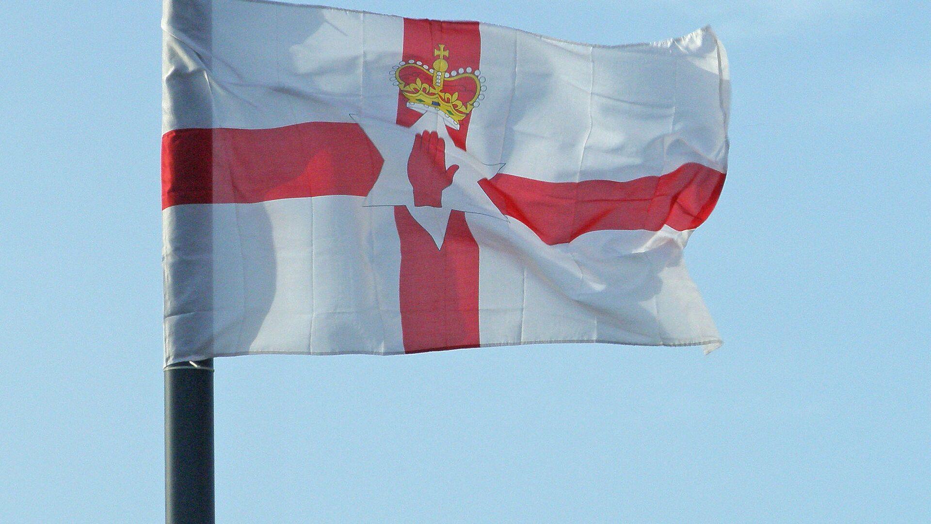 Bandera de Irlanda del Norte - Sputnik Mundo, 1920, 08.10.2021