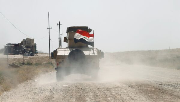 Las Fuerzas iraquíes (archivo) - Sputnik Mundo