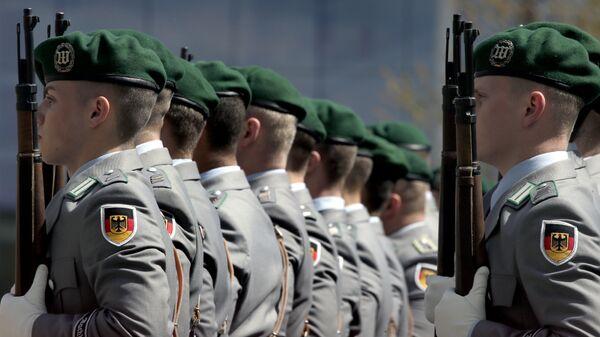 Militares alemanes - Sputnik Mundo