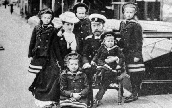 Familia imperial rusa - Sputnik Mundo
