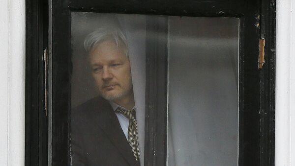Julian Assange - Sputnik Mundo
